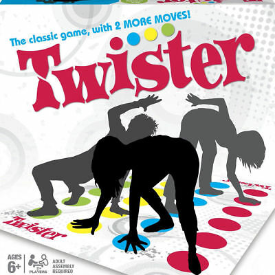 Twister The Classic Family Kids Children Party Body Game With 2 More Moves UK