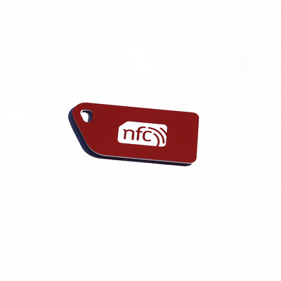5 Red NFC Tag Plastic Key Cards NXP NTAG213 Android Windows Samsung HTC LG Nokia