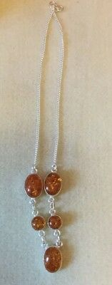 Amber Necklace 18""