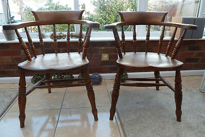 pair of smokers bow captains chairs
