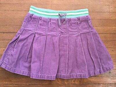 Mini Boden Girls Corduroy Skirt Size 9 10 Y