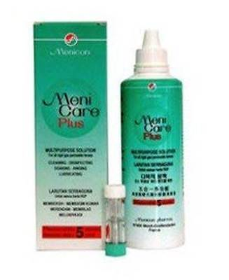 Menicon Meni Care Plus 250ml Wetting Agent Hypromellose Lens Cleaning Brand New
