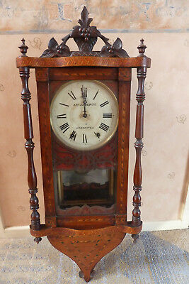 antique wallclock in need of some tlc