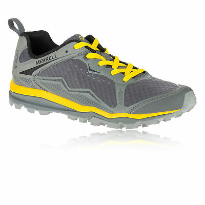 Mens Merrell Trail Runner Trainers All Our Crush Light Shoes Red