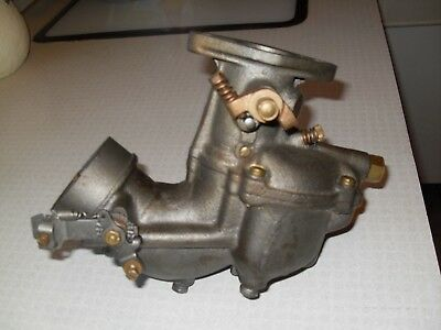Zenith #8963 Carburetor for Chris craft boat with Model B 4 and 6 cyl. engine.
