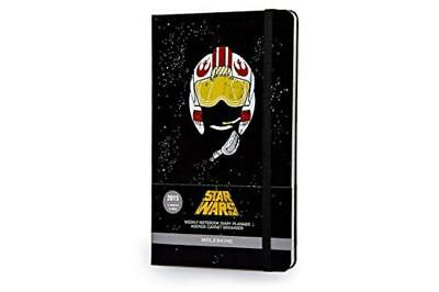 Moleskine Star Wars Black Large Weekly Notebook Diary / Planner 2015 - NUOVO