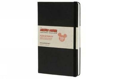 Moleskine Mickey Mouse Plain Notebook Large - NUOVO