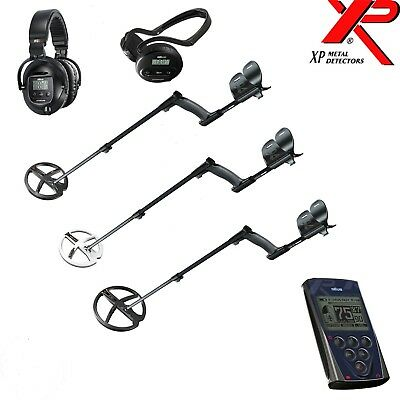 "XP Deus Metal Detector - Free UK Delivery (WS4, WS5, 9"",11"" Coil Options)"