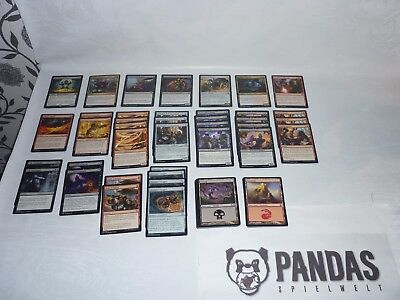 Magic the Gathering Kaladesh schwarz rotes Artificer Fabricate Deck