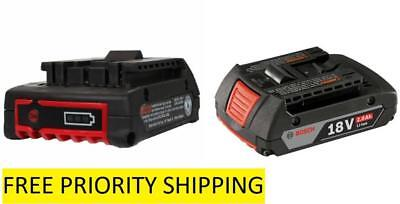 Bosch BAT612 18V Lithium-Ion Battery Fuel Gauge FREE PRIORITY SHIP OUT OF A KIT