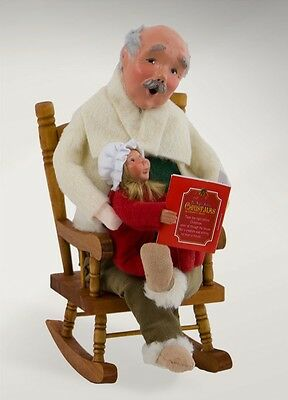 Byers' Choice - Night Before Christmas Grandfather 4821B - New 2017 Caroler