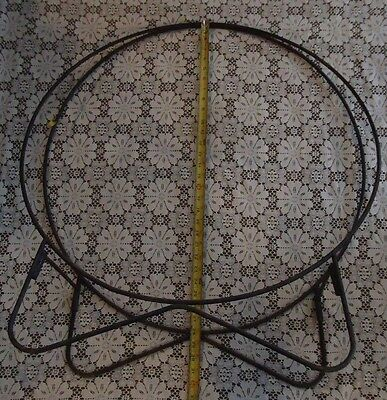 Wood/log Rack,round,28 Inch,collaspable,fireplace,28 Inch,vintage,wood Stove