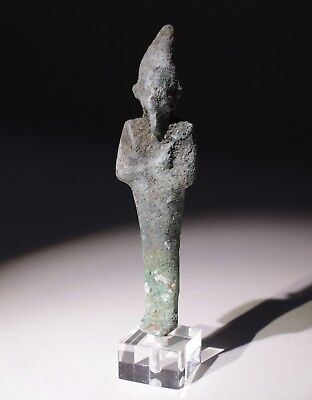 Quality Ancient Egyptian Bronze Statue Circa 600Bc  - No Reserve!!!  09