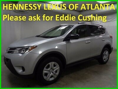 2015 Toyota RAV4 LE 2015 LE Used 2.5L I4 16V Automatic AWD SUV  One Owner Low Miles Like New