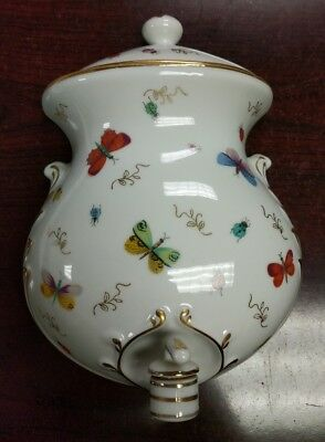 Vintage Ardalt Japan Lenwile China Hand Painted Butterfly Lavabo