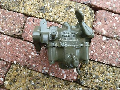 Tillotson MD 49A carburetor US New Old Stock Power unit PE-210
