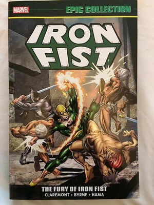 Iron Fist EPIC Collection vol 1 MARVEL OOP The basis for the Netflix TV series!