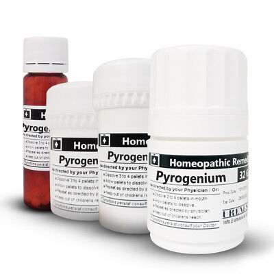 PYROGENIUM in 6C 30C 200C or 1M Homeopathic Remedies Homeopathy Medicines
