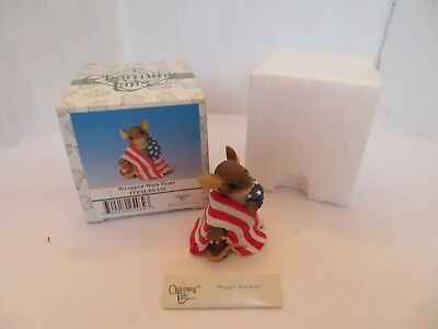 Charming Tails Wrapped With Pride Figurine #89/139 Fitz & Floyd MIB