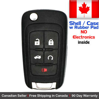 1x New Replacement Remote Key Fob Case For Chevy Buick GMC - Shell Case Only