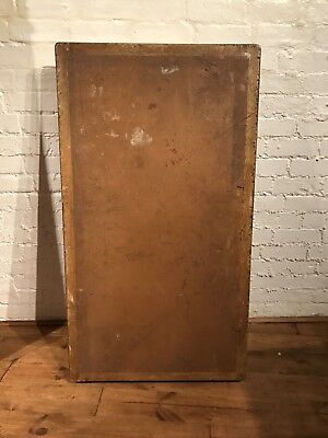 Vtg Solicitors Rustic Table Top Only Desk Industrial For Restoration 3 Available