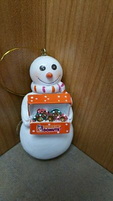 Dunkin Donuts Collectible Christmas Tree Ornaments