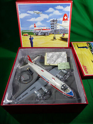 "Schuco Electro Radiant 5600 Vickers Viscount "" Swissair"" Blech Lagerfund - Nos"