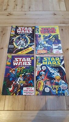 MARVEL STAR WARS COMICS - VERY FIRST 16 ISSUES (1 to 16) - 1978 ORIGINALS