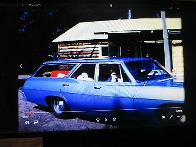 Vintage Super 8 Home Movie Film Reel Wisconsin Trip Vacation Chevy Station Wagon
