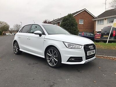2017audi a1 1.4tfsi dsg black edition 2200 miles damaged repaired hpi clear 100%