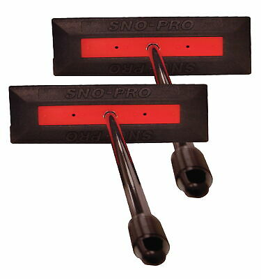 "SNO PRO by Sno Brum Snow Removal Tool with 48"" Handle - 2pk"