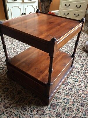 Antique Square Coffee Table Side Occasional Table Light Restoration