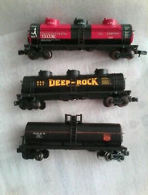 3  N SCALE silver series BACHMANN TANKERS GREAT DETAIL