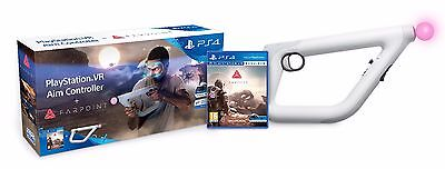 PlayStation 4 VR Aim Controller And Farpoint Game Sony PSVR Ps4 NEW and SEALED+