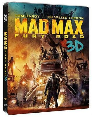 Mad Max Fury Road 3D - Limited Edition Steelbook (Blu-ray 2D/3D) BRAND NEW!!