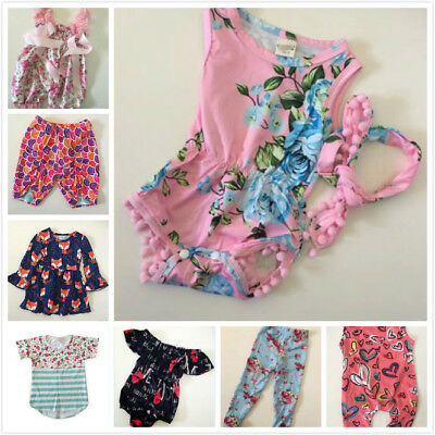 US Toddler wholesale Kids Baby Girls Outfit Mixed Top of stock Clothing 40pc