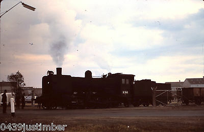 Victorian Railways Steam K164 and a TAA 727 International Harvester Sidings