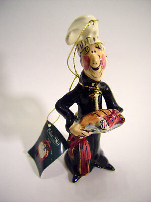 BlueSky Clayworks Father Francis Christmas ornament Free ship to USA addresses