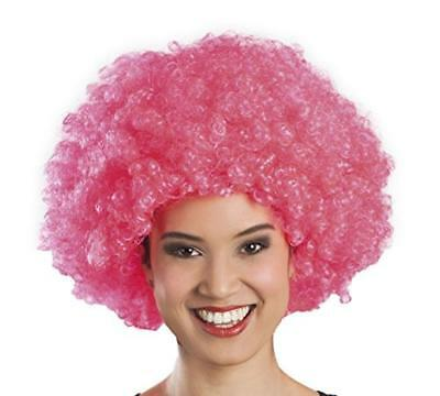 (TG. One Size) Boland 86019 - Parrucca Afro Riccia Rosa - NUOVO