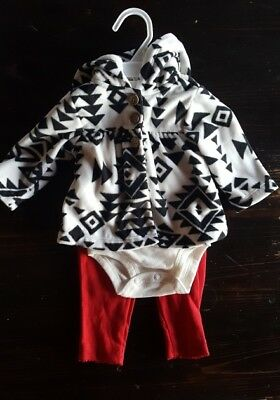 NWT name brand baby girl outfit/jacket set