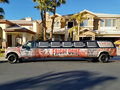 2005 Ford Excursion  2005 FORD EXCUSRION STRETCH LIMO V10 ZOMBIE WRAP AMAZING CONDITION CLEAR TITLE
