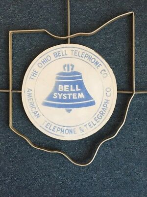 Ohio Bell Telephone Company Vintage Sign
