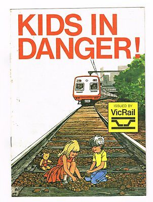 Victorian Railways. Kids In Danger.