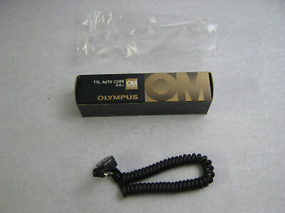 New in box Olympus OM Electronic TTL Auto Cord 0.6m