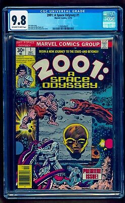 2001 A Space Odyssey 1 Cgc 9.8 **see Our Thor Ragnarok No Reserve Auctions**