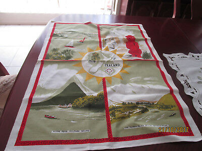 Cotton Tea Towel - New Zealand