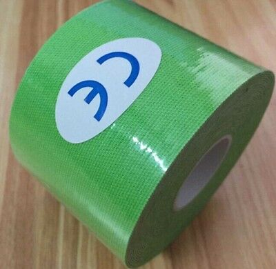 Kinesiology Tape 7.5cm X 5m Box of 4 Mixed Colours