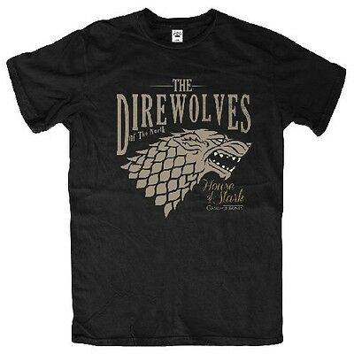 Game Of Thrones Direwolves Of The North T Shirt  - L - NEW