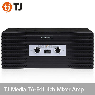 TJ Media TA-E41 Karaoke Machine Mixer 4ch Power Amplifier