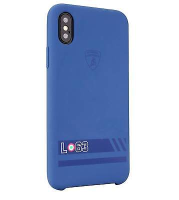 LAMBORGHINI HURACAN D13 Silicon iPhone X Back Case Cover Blue